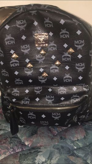 MCM BackPack (BlAck) for Sale in Detroit, MI