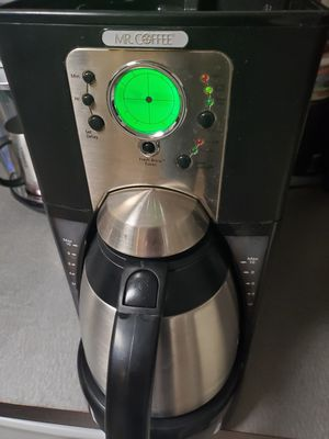 MR COFFEE Stainless Steel carafe, programmable coffee maker for Sale in Seattle, WA