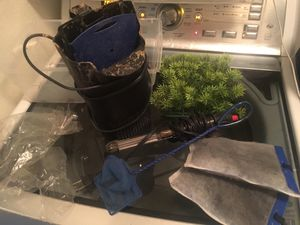 Aquarium supplies.. filter, led to hot water, for Sale in Phoenix, AZ