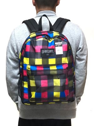 NEW Checkered Backpack For School/Traveling/Work/Everyday Use/Biking/Hiking/Gym $9 for Sale in Carson, CA