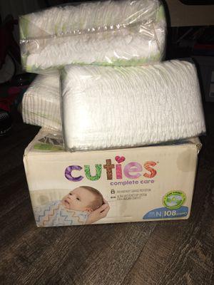 Newborn diapers for Sale in Villa Rica, GA