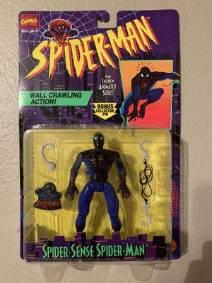 Marvel Spider-Man Animated Series (1995) Spider -Sense Spider-man Toy Biz Figure NIP for Sale in Stockton, CA