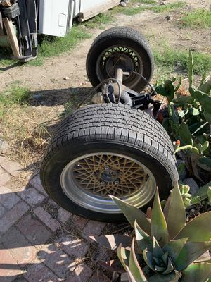 Chevy S10 tires & rear axel for Sale in Phillips Ranch, CA