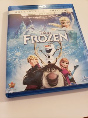Frozen movie with blu ray and DVD for Sale in Los Angeles, CA
