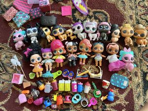 Lol girls dolls and rv for Sale in Riverside, CA