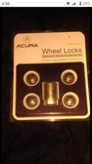 OEM Acura wheel locks for Sale in York, PA