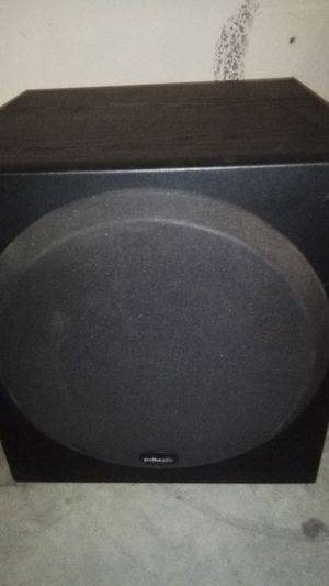 "Polk audio 10"" sub w/sound bar 70OWATTS! for Sale in Avondale, AZ"