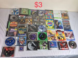 Large Collection of Video Games $3 Each PS1,PS2,PS3, Dreamcast,Gameboy, GameCube,PSP,Wii, Xbox, Xbox 360 for Sale in Severn, MD