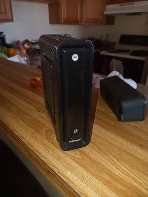 Modem wifi Motorola surfboard for Sale in Las Vegas, NV