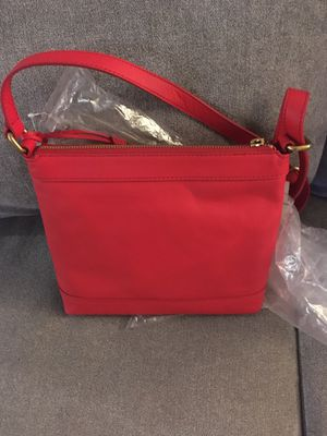 Christmas Red Fossil purse NEW for Sale in Puyallup, WA