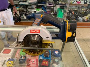 Ryobi 18V P501 Circular Saw tool With battery and Charger. for Sale in Los Angeles, CA