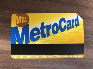 NYC MTA 30-Day Unlimited Metrocard (Multiple Available) for Sale in New York, NY