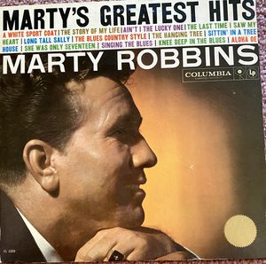 "Marty Robbins ""Marty's Greatest Hits"" Vinyl Album $8 for Sale in Ringgold, GA"