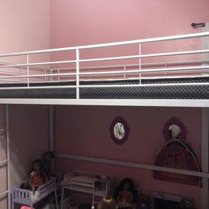 Bunk Bed W/mattress for Sale in Visalia, CA