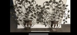Brown Metal Wall Deco for Sale in Poway, CA