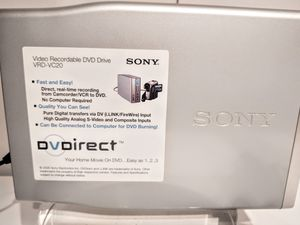 Sony VRD-VC20 DVD Direct for Sale in Kirkland, WA