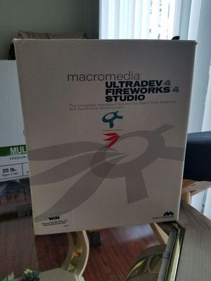 Macromedia Ultradev 4 Fireworks 4 Studio for Sale in West Palm Beach, FL