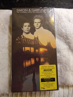 Simon And Garfunkel 5 CD Boxed Set for Sale in San Diego, CA