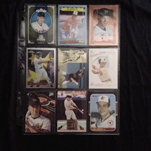 (9) Different CAL RIPKEN JR Baseball Card Lot Baltimore Orioles for Sale in Redmond, WA