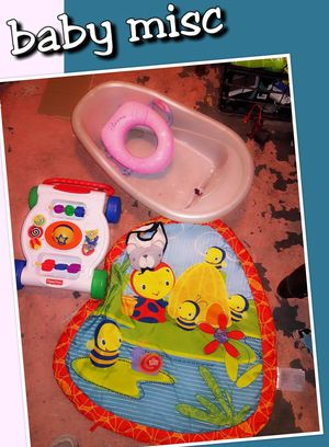 Baby toys and bath for Sale in Tulsa, OK