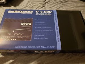 AudioControl D-4.800 for Sale in Seattle, WA