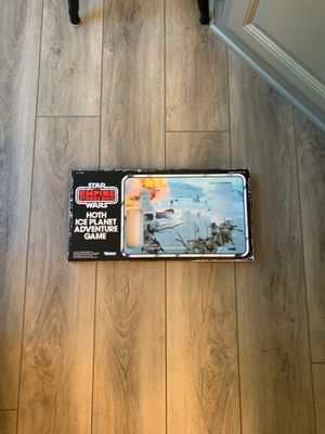 Hoth ice planet adventure game NO LUKE SKYWALKER FIGURE for Sale in Stow, OH