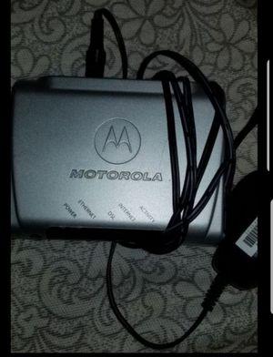 Like new Motorola att modem for Sale in Fort Lauderdale, FL