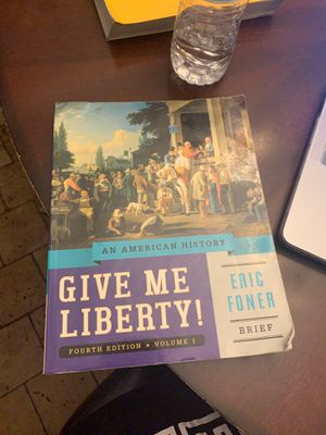 Give me liberty 4th edition volume1 for Sale in Grand Prairie, TX