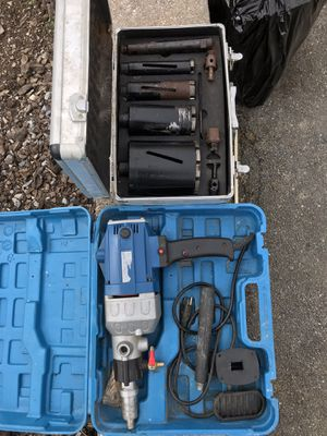 Core drill with bits for Sale in Boonsboro, MD