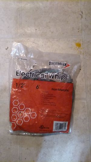 "DIVERSITEC Electrical Whip 1/2"" 6 for Sale in San Antonio, TX"