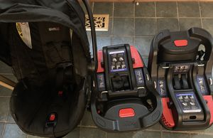 Britax Infant Car Seat & Two Bases for Sale in Williamsburg, VA