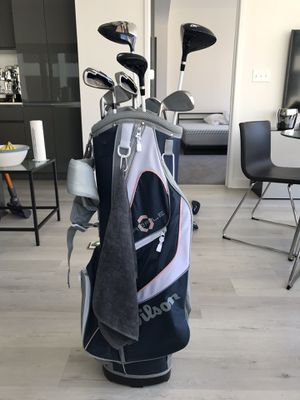 Wilson 10 clubs women's set - played 5times! for Sale in Atlanta, GA