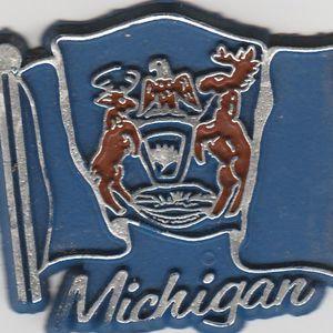 Michigan Flag magnet for refrigerator for Sale in Stockton, CA