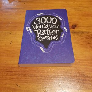 3000 Would You Rather Questions from Picadilly Inc. USA for Sale in Holtsville, NY