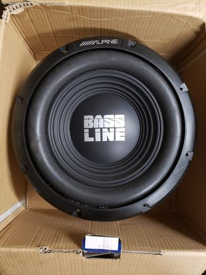 12 in subwoofer for Sale in Akron, OH