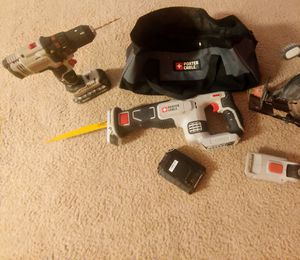 Porter Cable cordless power tool set for Sale in Mount Vernon, OH