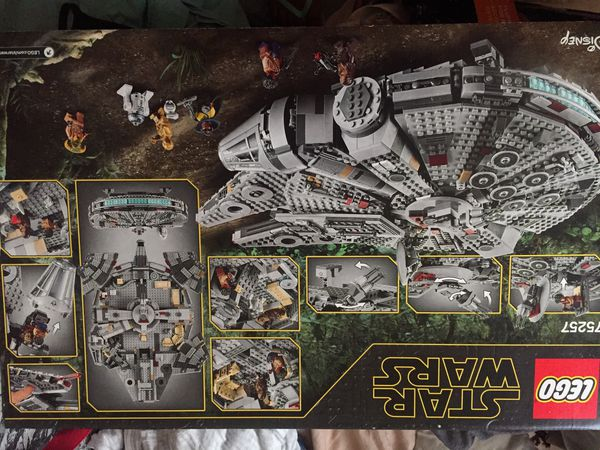 """Brand New LEGO Starwars 75257 Millenium Falcon"""