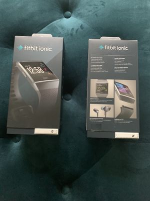 FITBIT IONIC SMARTWATCH for Sale in San Antonio, TX
