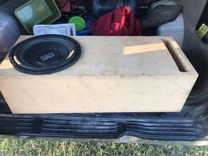 "Street audio 12""- Speaker - custom ported box for Sale in Del Valle, TX"