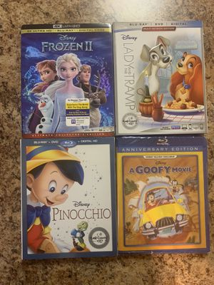 Disney Movies for Sale - Blu Ray (Still sealed) for Sale in Carlsbad, CA