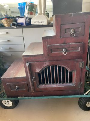 Solid wood shoe shine stand or shelf for Sale in San Diego, CA