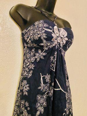 LYNDIA, Navy Blue & Gray Floral Dress, Size 2 for Sale in Phoenix, AZ