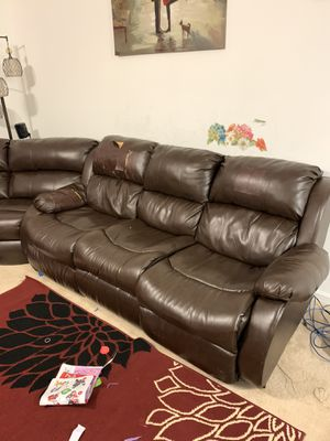 FREE Three-piece couch, loveseat, sectional sofa FREE for Sale in Virginia Beach, VA