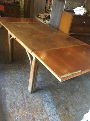 Rattan bamboo table for Sale in San Diego, CA