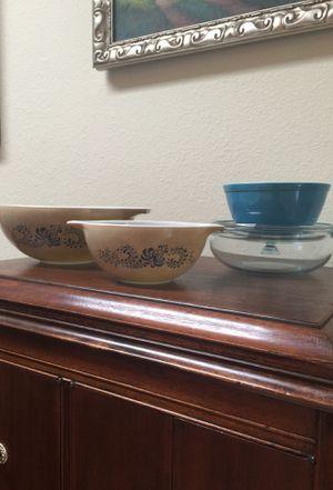 Vintage Pyrex bowls for Sale in Laguna Niguel, CA