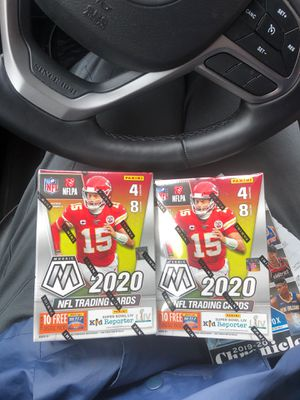 Mosaic football blaster box 2 box Lot for Sale in Portland, OR