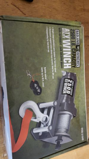 Badland Winch for Sale in Tacoma, WA