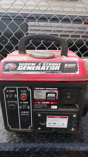 All power 1000w generator 2 stroke for Sale in Vallejo, CA