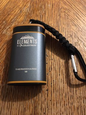 Elements by Celestron Thermocharge 10 Handwarmer & Powerbank for Sale in Brazil, IN