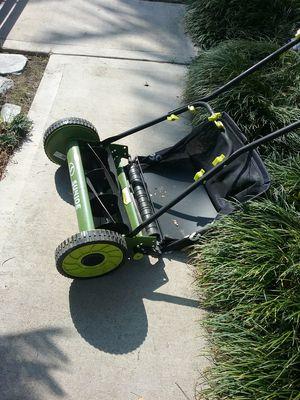 Sunjoe manual reel mower for Sale in Orange, CA